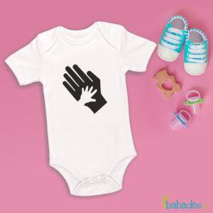 Φορμάκι «παλάμη μπαμπά/μωρού»