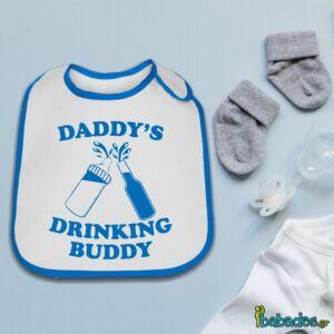 Σαλιάρα «Daddy's drinking buddy»